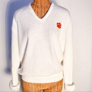 Vintage Clemson Varsity Lettermen Sweater